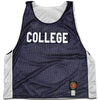 College Lacrosse Reversible Pinnie in Navy/White by Tribe Lacrosse