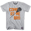 Come At Me Goalie T-shirt in Grey Heather by Tribe Lacrosse