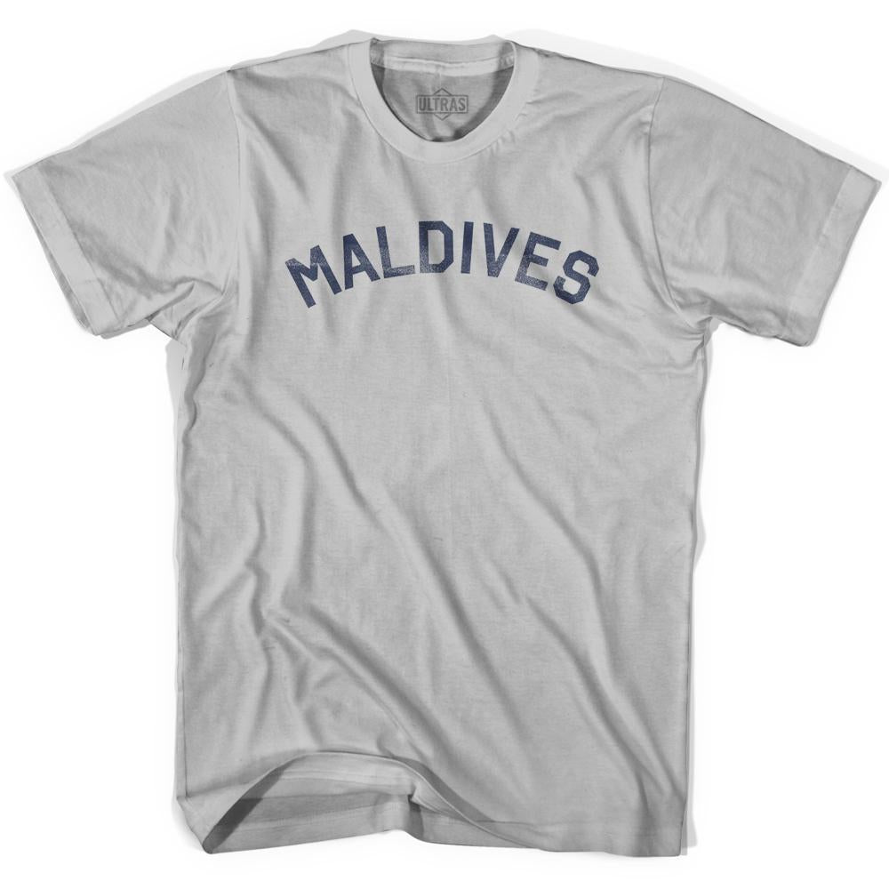 Maldives Vintage City Adult Cotton T-shirt by Ultras