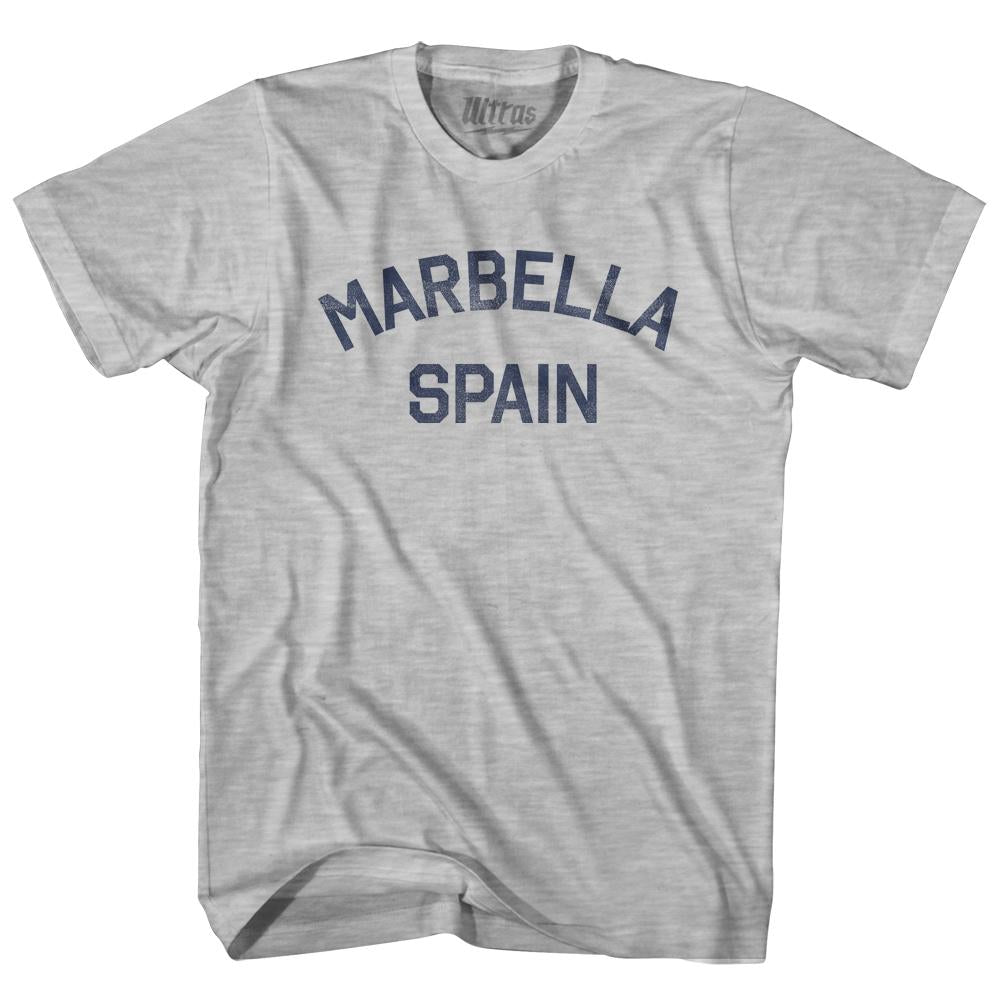 Marbella Spain Womens Cotton Junior Cut T-Shirt by Ultras
