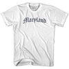 Maryland Old Town Font T-shirt By Ultras