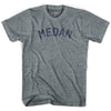 Medan Vintage City Adult Tri-Blend T-shirt by Ultras