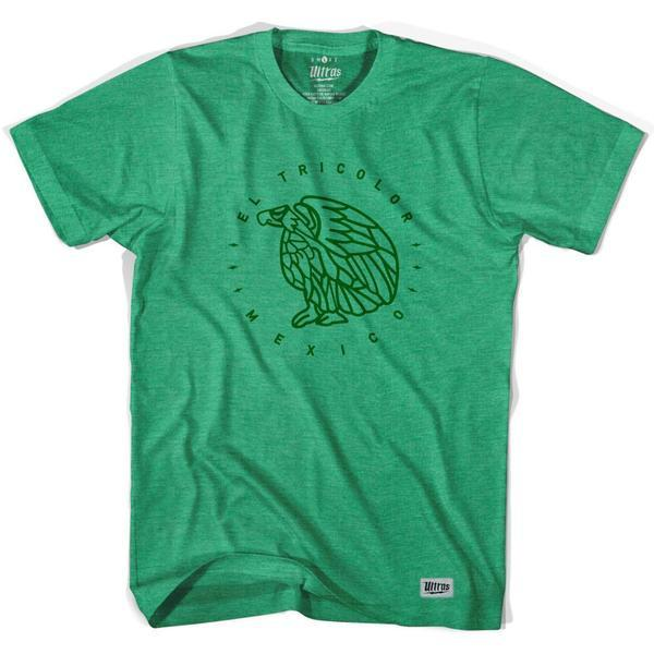 Mexico El Tri color Eagle T-shirt in Kelly by Ultras