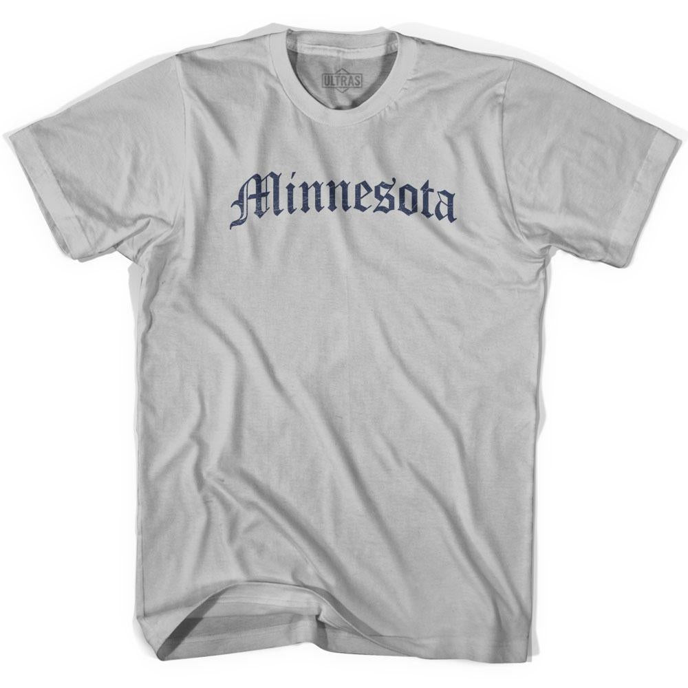 Minnesota Old Town Font T-shirt by Ultras