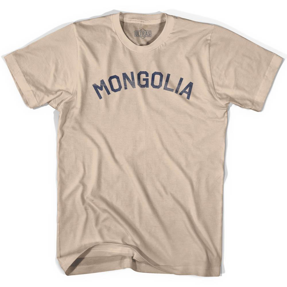 Mongolia Vintage City Adult Cotton T-shirt by Ultras