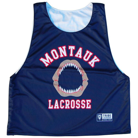 Montauk Jaws Lacrosse Reversible Pinnie