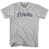 Nevada Old Town Font T-shirt