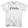 Nevada Old Town Font T-shirt By Ultras