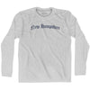 New Hampshire Old Town Font Long Sleeve T-shirt