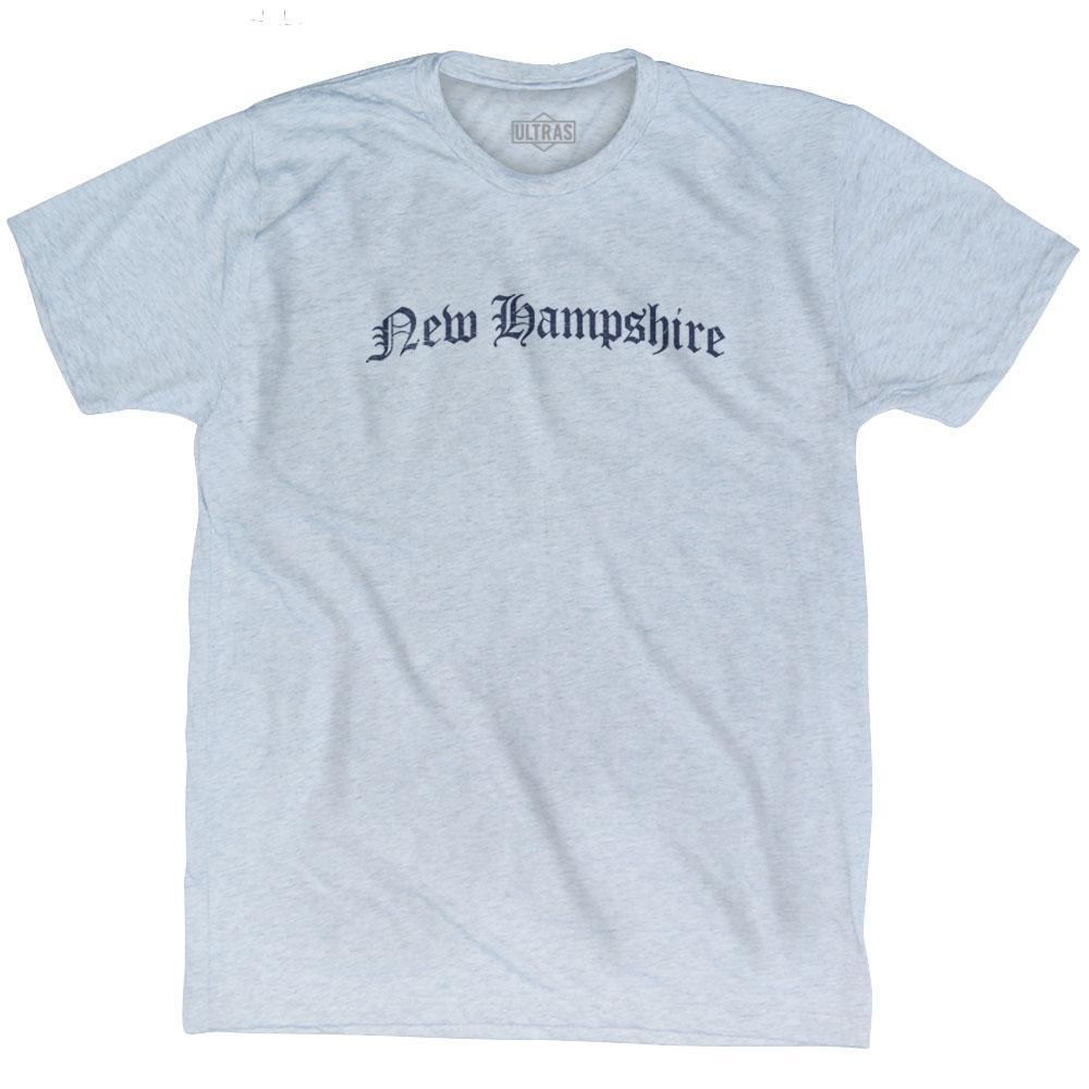 New Hampshire Old Town Font T-shirt by Ultras