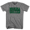 Nigeria Soccer Nations T-shirt in Grey Heather by Neutral FC