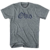 Womens Ohio Old Town Font T-shirt by Ultras