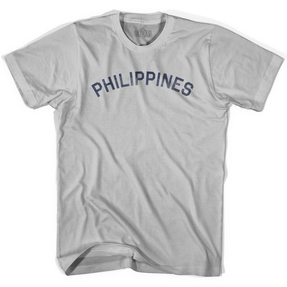 Philippines Vintage City Adult Cotton T-shirt by Ultras