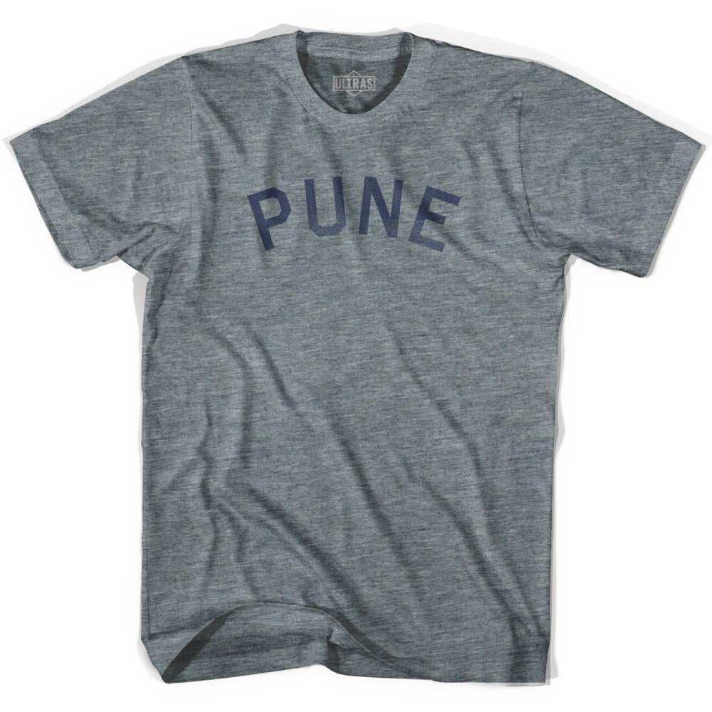Pune Vintage City Adult Tri-Blend T-shirt by Ultras