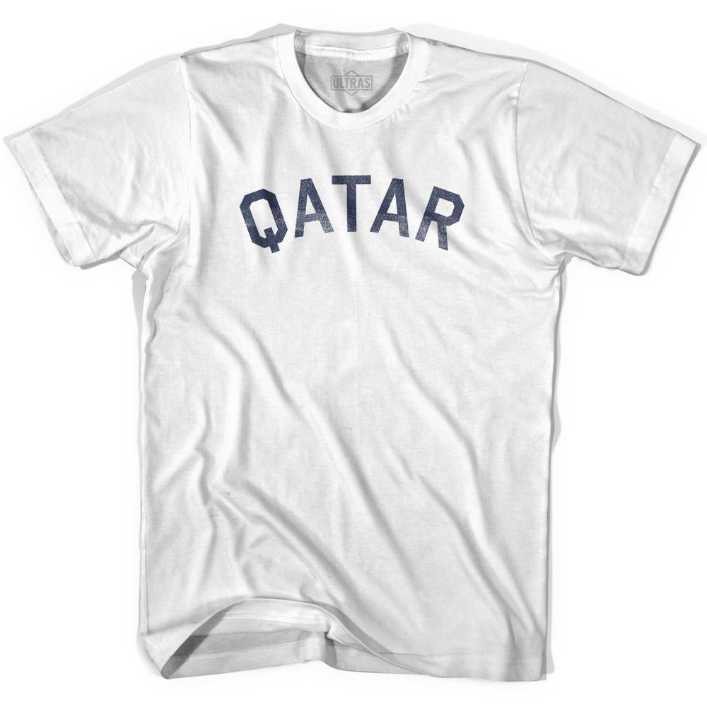 Qatar Vintage City Adult Cotton T-shirt by Ultras