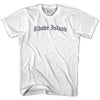 Rhode Island Old Town Font T-shirt By Ultras