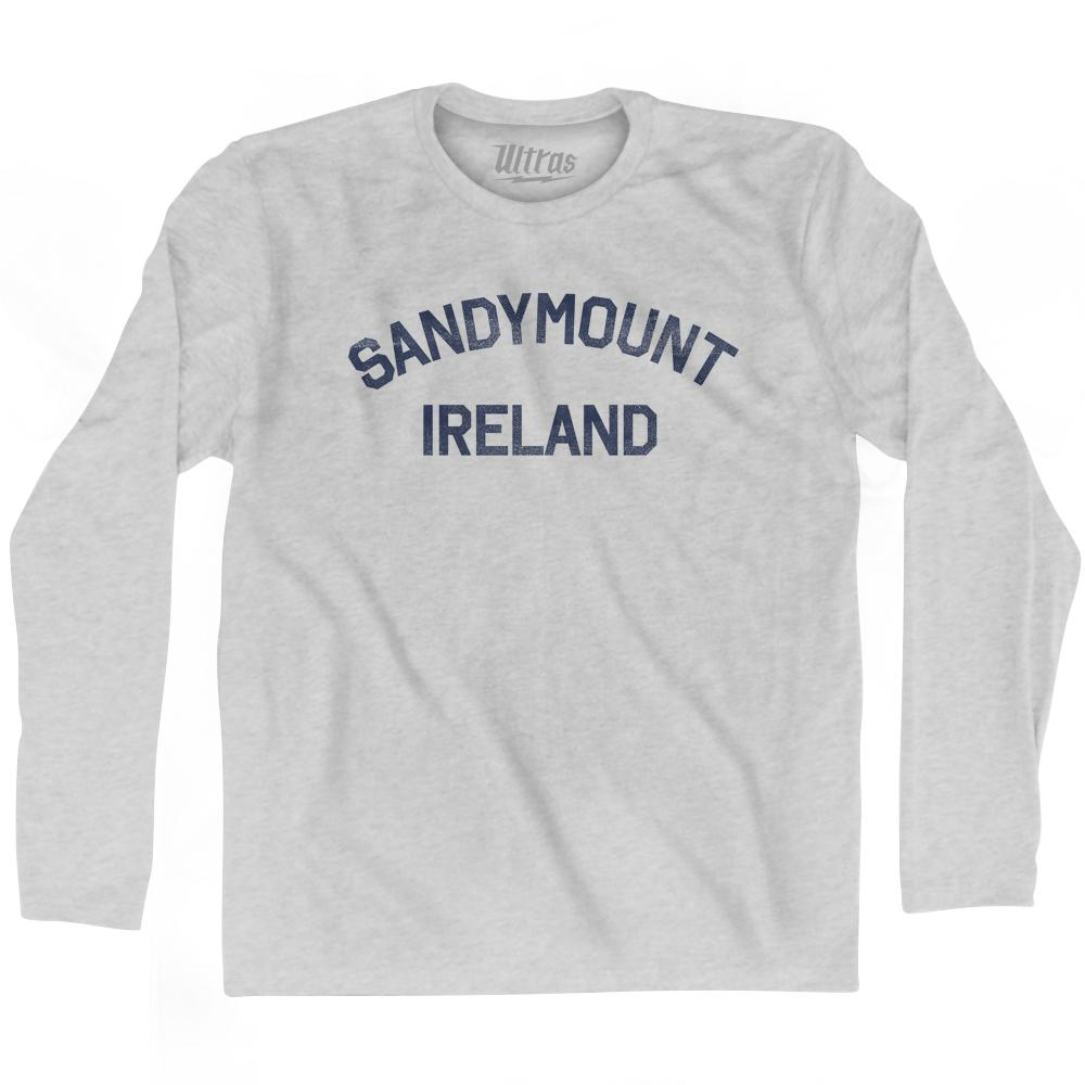 Sandymount Ireland Adult Cotton Long Sleeve T-Shirt by Ultras
