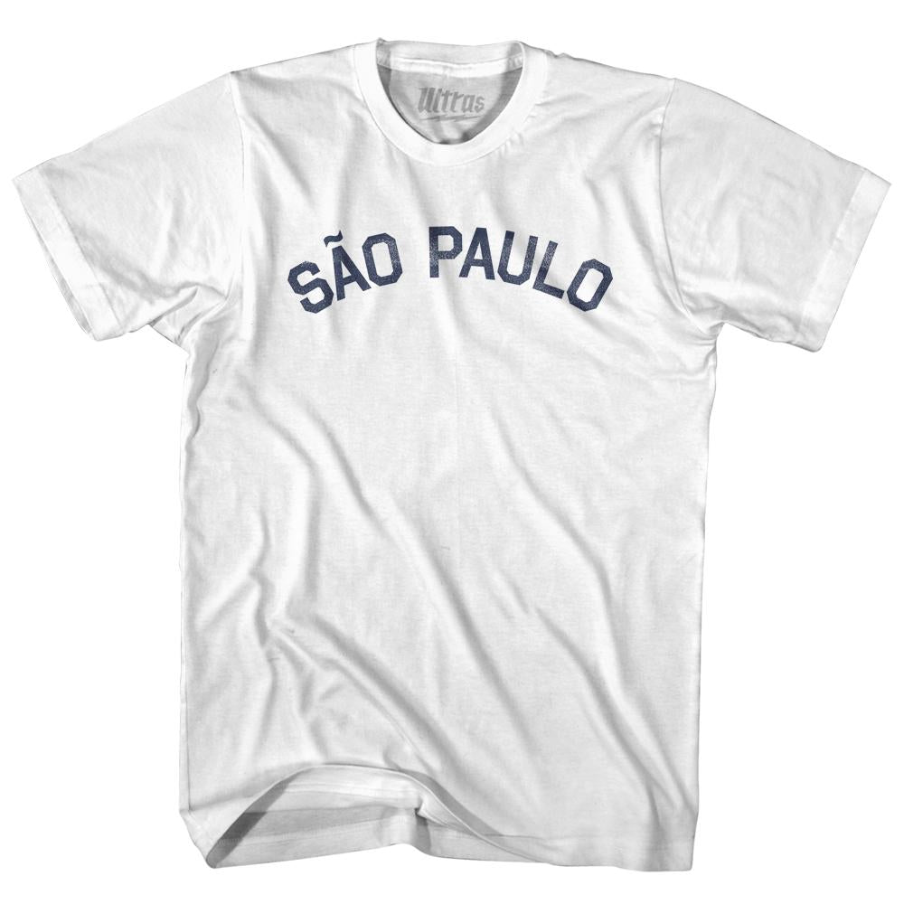 Sao Paulo Womens Cotton Junior Cut T-Shirt by Ultras