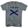 Scotland Cross Vintage T-shirt in Athletic Grey by Ultras