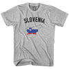 Slovenia Flag & Country T-shirt in Grey Heather by Neutral FC