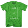 Soccer Field T-Shirt in Grass by Neutral FC