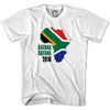South Africa Bafana Bafana 2010 T-Shirt in White by Neutral FC