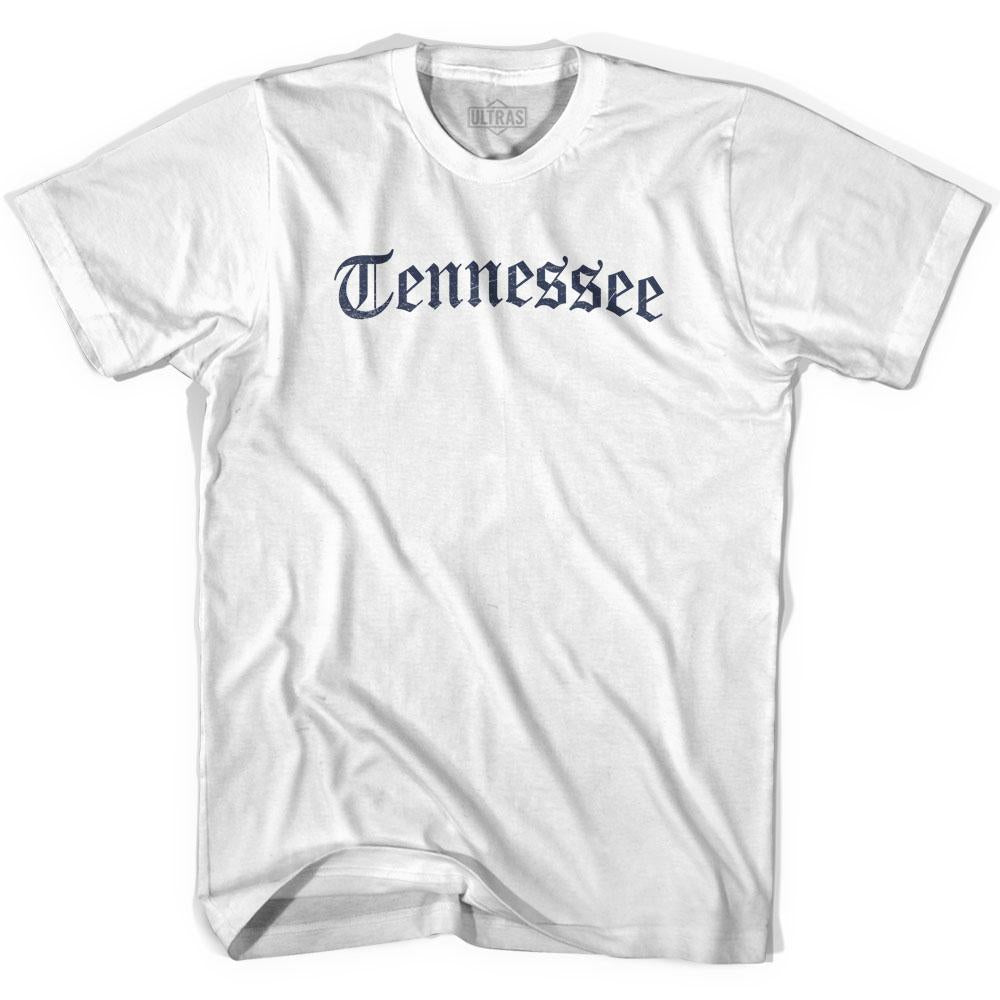 Tennessee Old Town Font T-shirt By Ultras