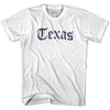 Womens Texas Old Town Font T-shirt By Ultras