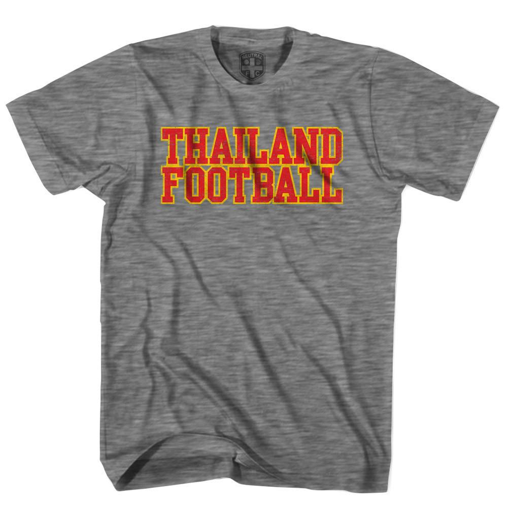 Thailand Football Nations T-shirt in Grey Heather by Neutral FC