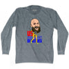 Ultras Tim Howard Caricature Soccer Long Sleeve T-shirt by Ultras