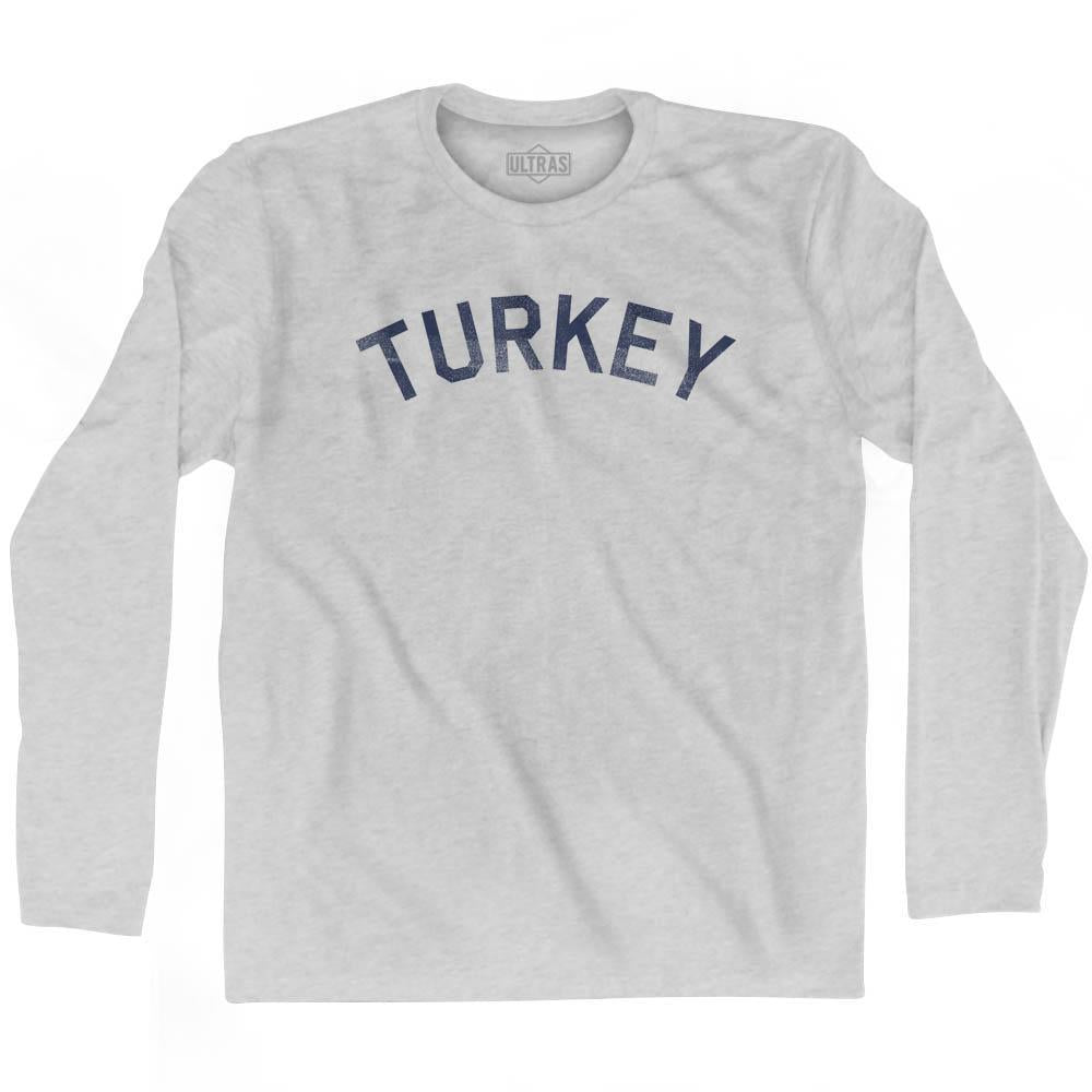 Turkey Vintage City Adult Cotton Long Sleeve T-shirt by Ultras