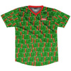 Ultras Turkmenistan Party Flags Soccer Jersey by Ultras