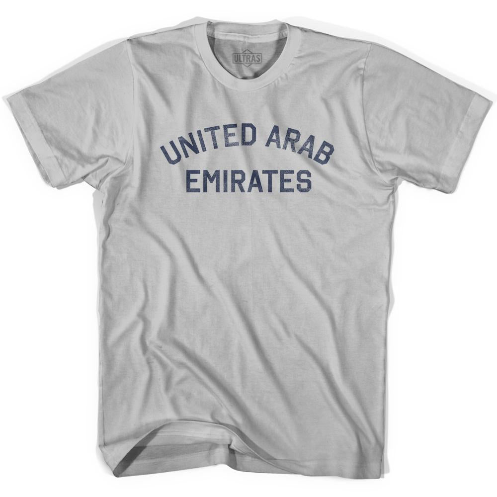 United Arab Emirates Vintage City Adult Cotton T-shirt by Ultras
