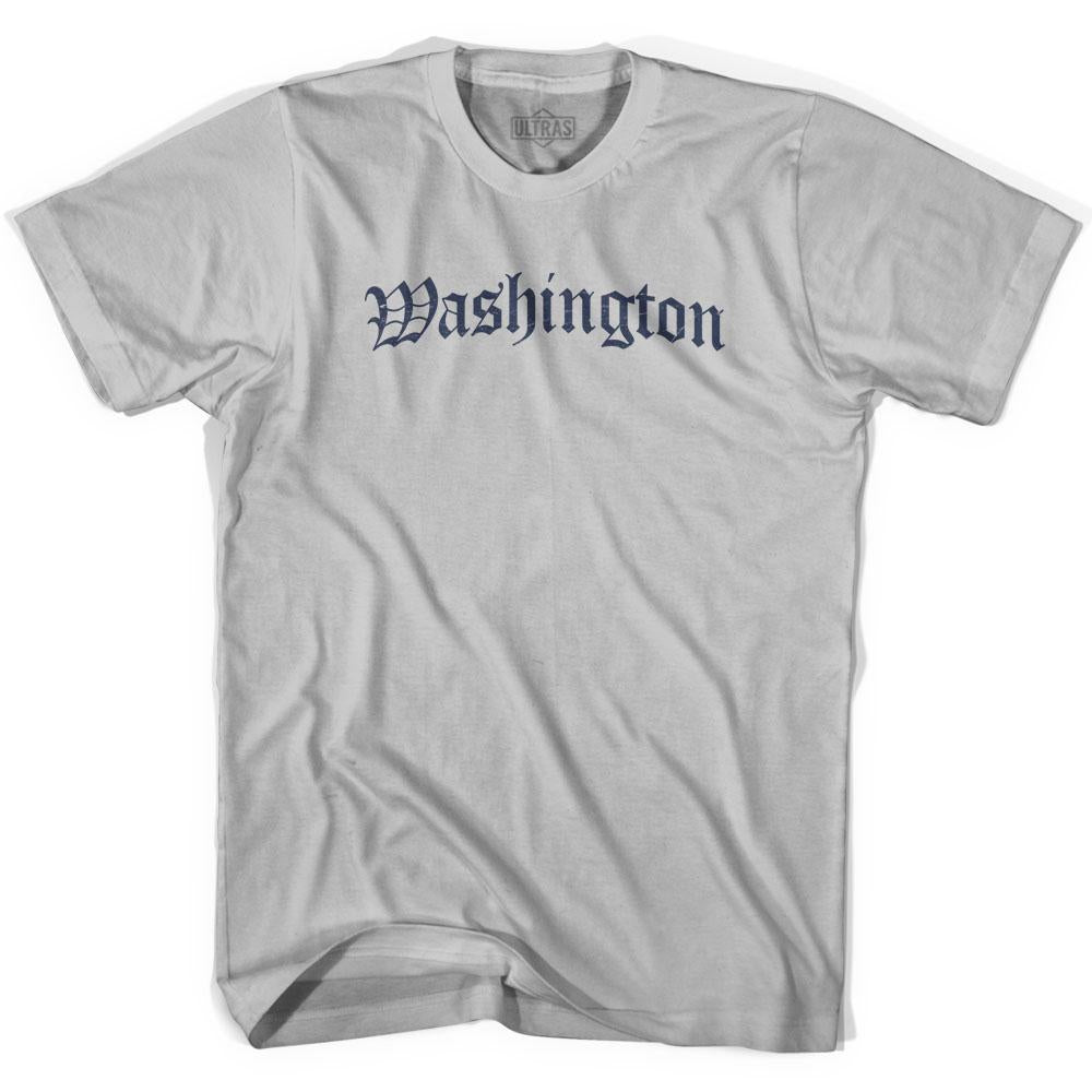 Washington Old Town Font T-shirt by Ultras