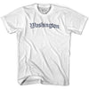 Womens Washington Old Town Font T-shirt By Ultras