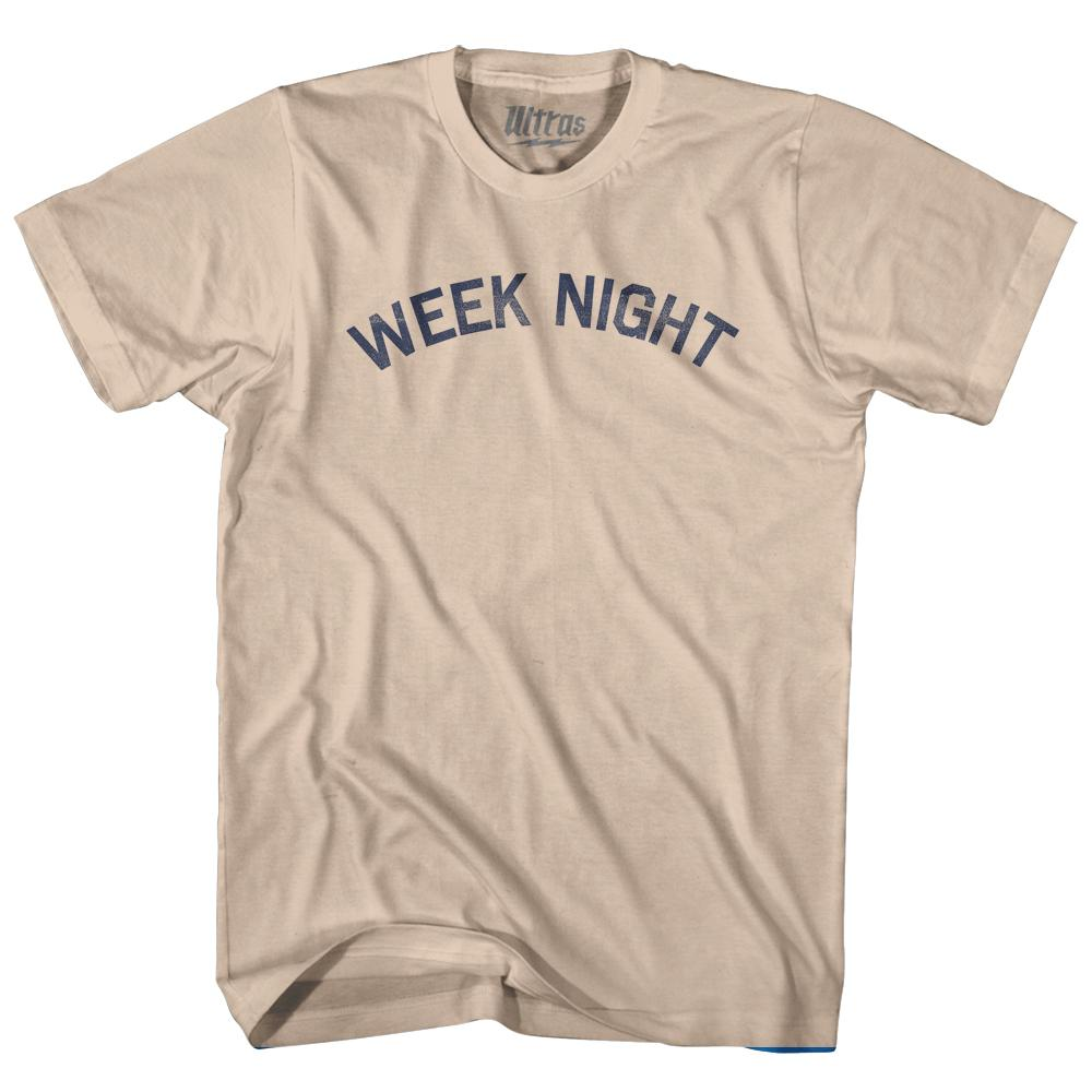 Week Night Adult Cotton T-Shirt by Ultras