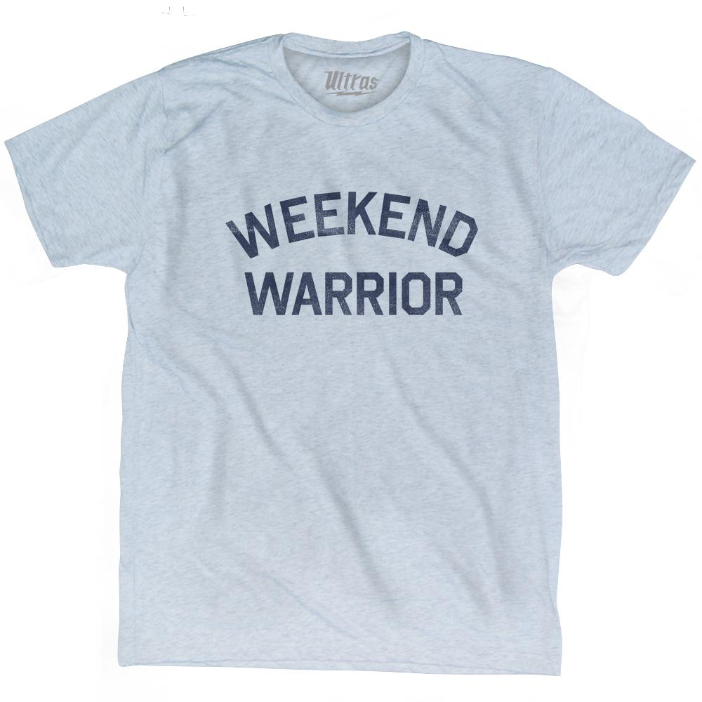 Weekend Warrior Adult Tri-Blend T-Shirt by Ultras