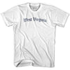 Youth West Virginia Old Town Font T-shirt