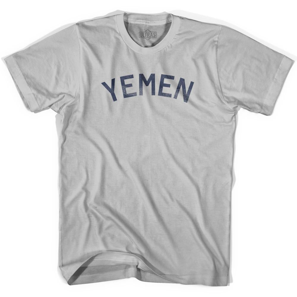 Yemen Vintage City Adult Cotton T-shirt by Ultras