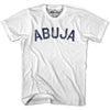 Abuja City Vintage T-shirt in Grey Heather by Mile End Sportswear