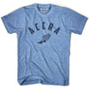 Accra Track T-shirt in Athletic Blue by Mile End Sportswear