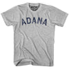 Adana City Vintage T-shirt in Grey Heather by Mile End Sportswear