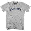 Addis Ababa City Vintage T-shirt in Grey Heather by Mile End Sportswear