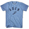 Aden Track T-shirt in Athletic Blue by Mile End Sportswear