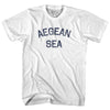 Aegean Sea Adult Cotton T-Shirt