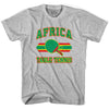 Africa Table Tennis Youth  Cotton T-shirt by Ultras