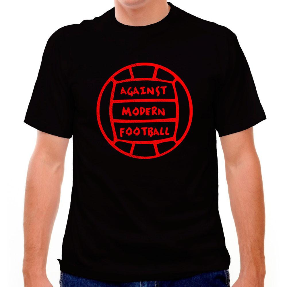 Against Modern Football T-shirt in Black by Neutral FC