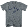 Al Ain Track T-shirt in Athletic Grey by Mile End Sportswear