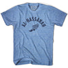 Al-Hassakah Track T-shirt in Athletic Blue by Mile End Sportswear