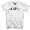 Alaska Union Vintage T-shirt in Grey Heather by Mile End Sportswear